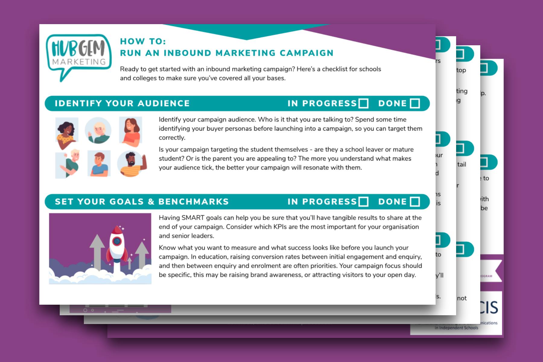 Inbound marketing checklist - image